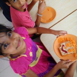 Kids Cooking Session at InBloom