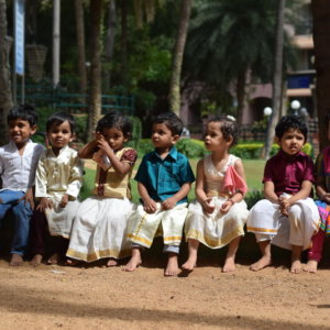 InBloom kids traditionally dressed