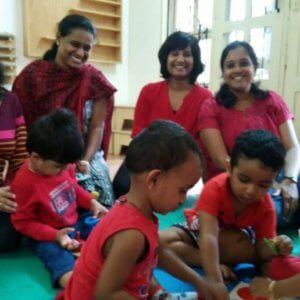 Fun Activity at Mommy and me with Su