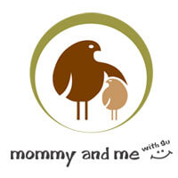 Logo of Mommy and me with Su