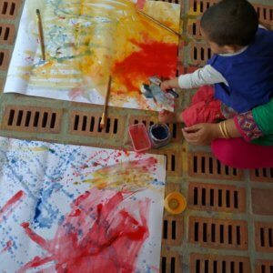 Toddler Activity at The Atelier