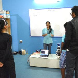 Science Workshop in Progress at Evolvingminds