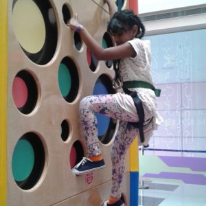 Wall Climbing at Clip 'n Climb