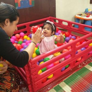 Ball Pool Play time with the toddlers