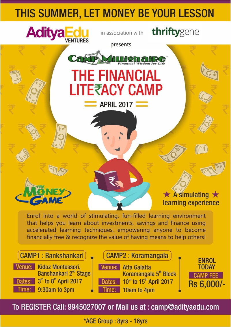 Camp Millionaire – Financial Literacy Camp Cover Image