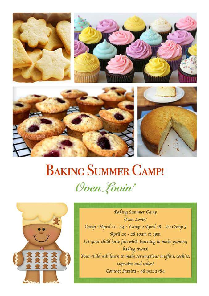 Baking Summer Camp Cover Image