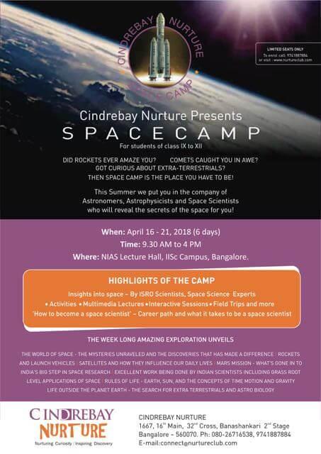 SpaceCamp Bangalore 2018 Cover Image