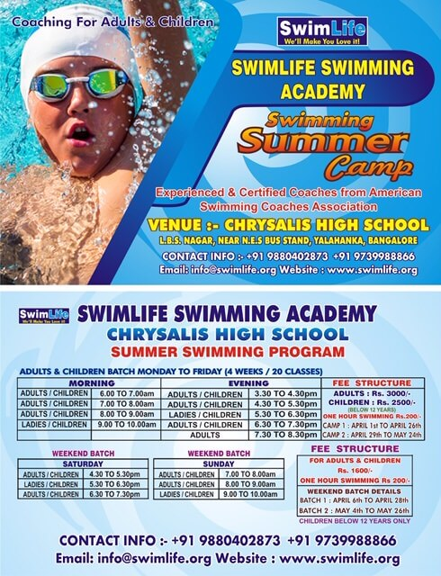 Swimlife Swimming Camp Cover Image