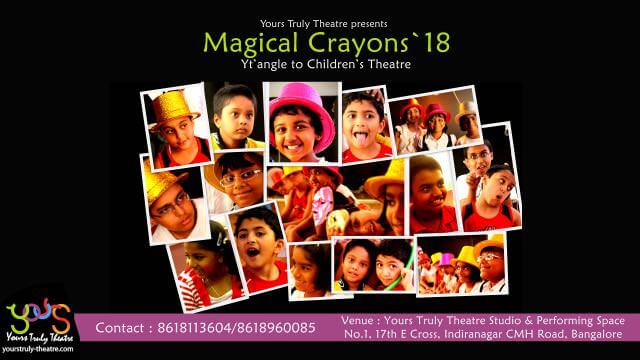 Magical Crayons – Children's Theatre Summer Classes Cover Image
