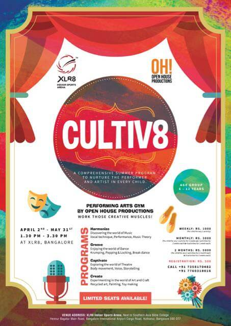 Cultiv8 Summer Camp by XLR8 Cover Image