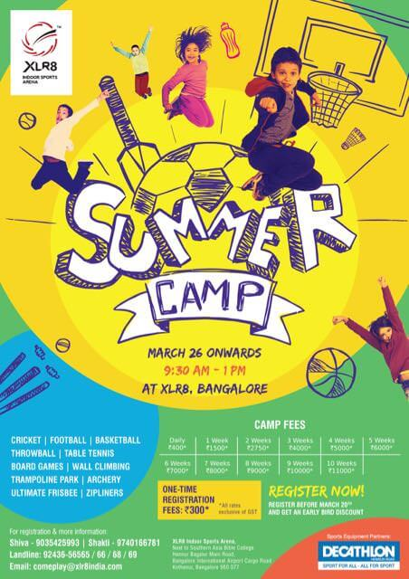 XLR8 Summer Camp 2018 Cover Image