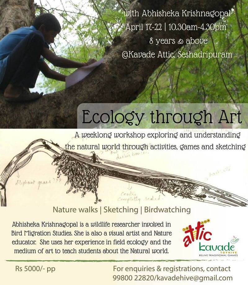 Ecology through Art Cover Image