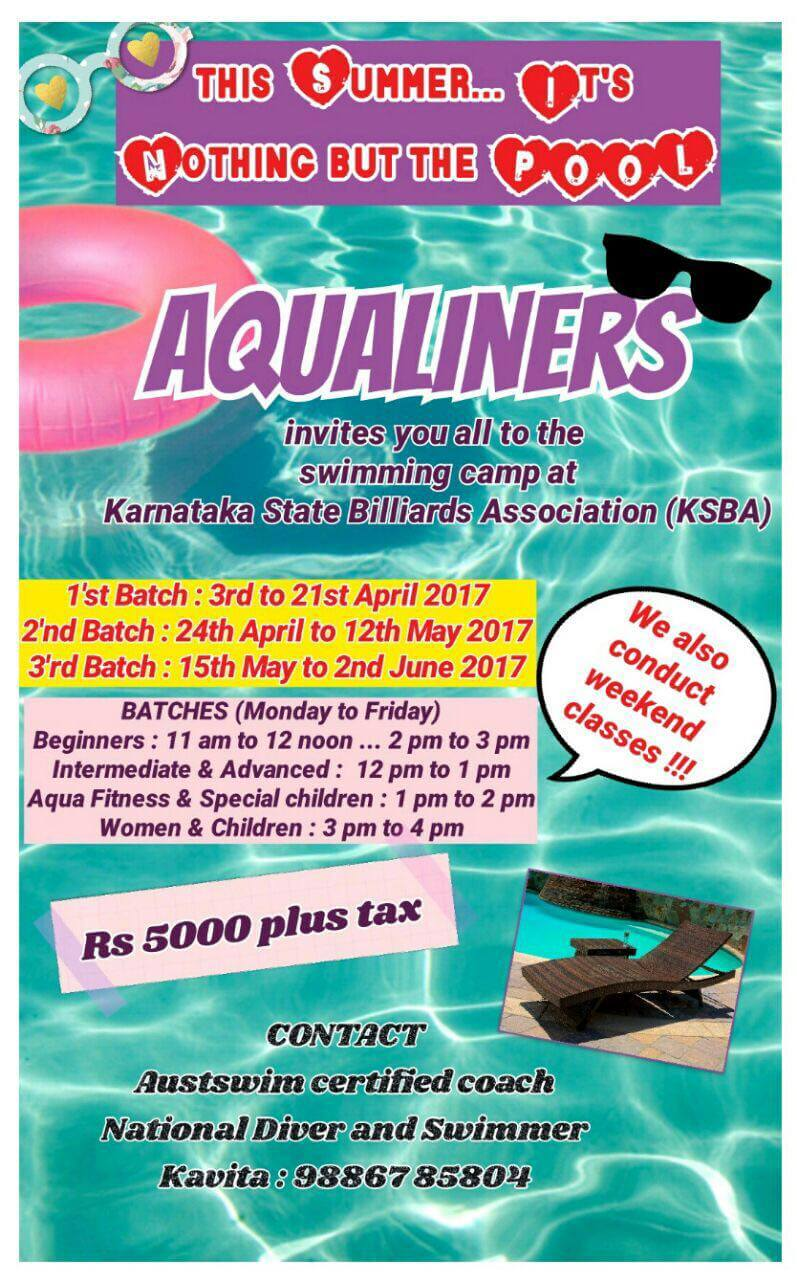 AquaLiners Swimming Camp Cover Image