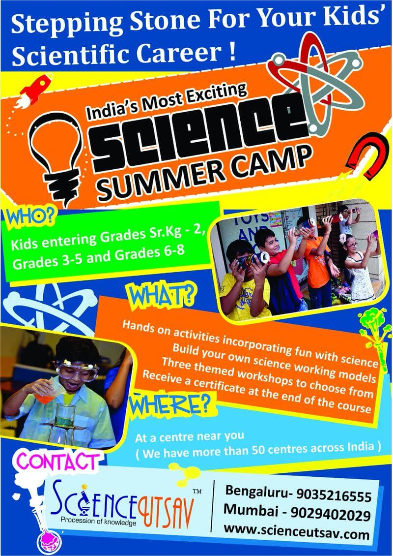 Science Summer Camp 2017 Cover Image