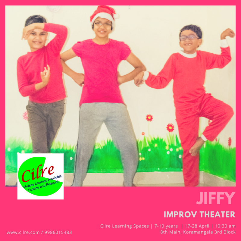 Jiffy Theater Workshop Cover Image