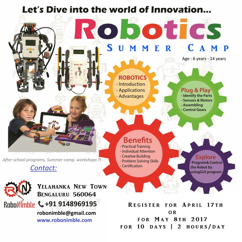 Robotics Summer Camp with Lego Mindstorms Cover Image