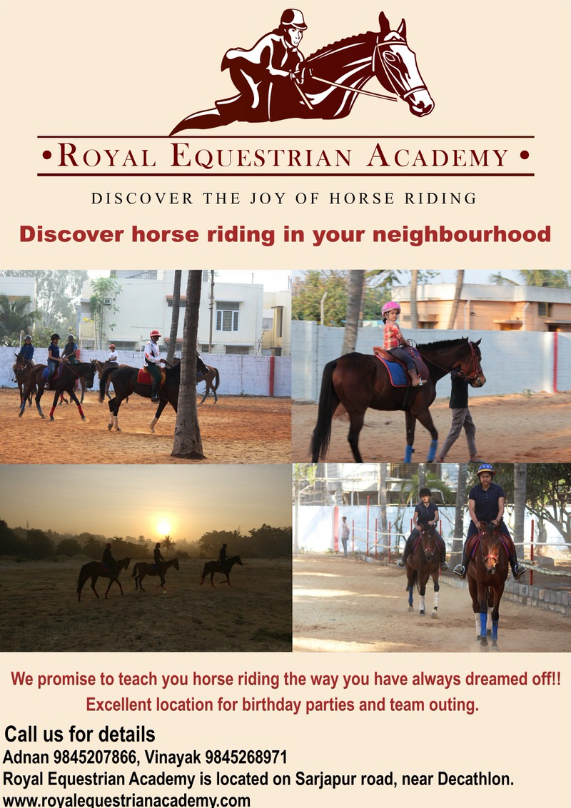 The Royal Equestrian Academy Summer Camp Sarjapur Road