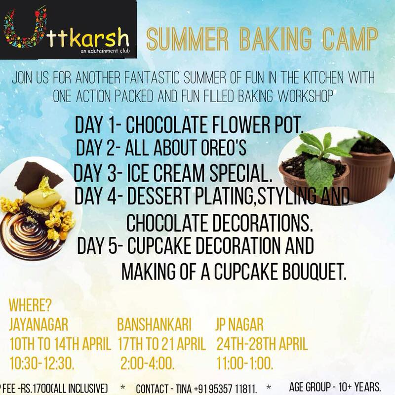 Summer Baking Camp Cover Image