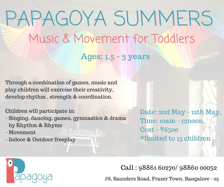 Papagoya Music & Movement Cover Image