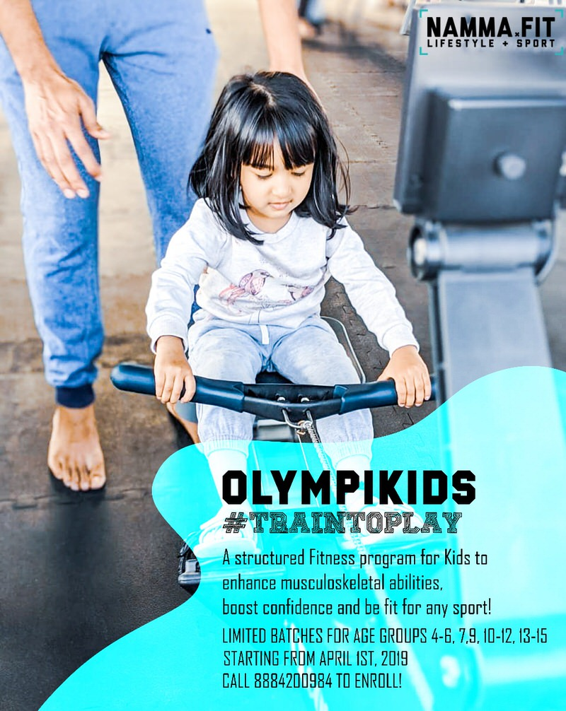 Olympikids Kids Fitness Program 2019 Cover Image