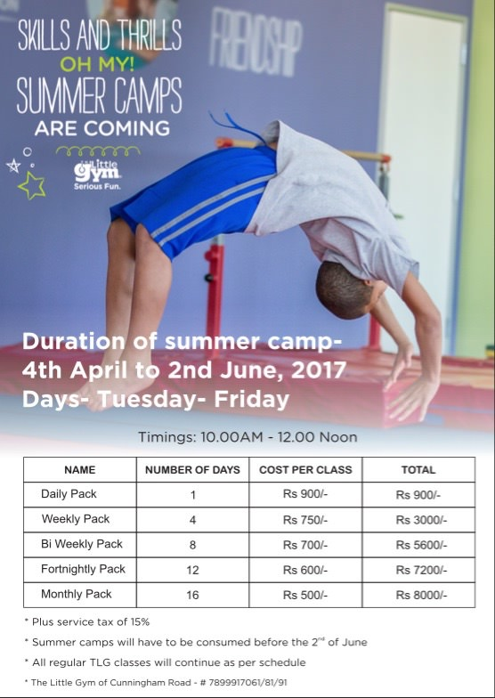 The Little Gym's Summer Camps Cover Image