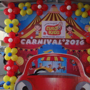 Carnival Setup by Cluster of Dreams