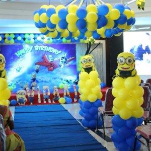 Minion Theme Birthday Party Decor