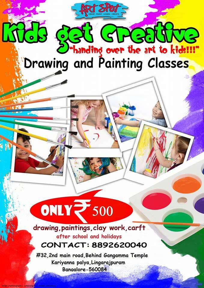 Drawing Painting Classes Lingarajapuram Bangalore