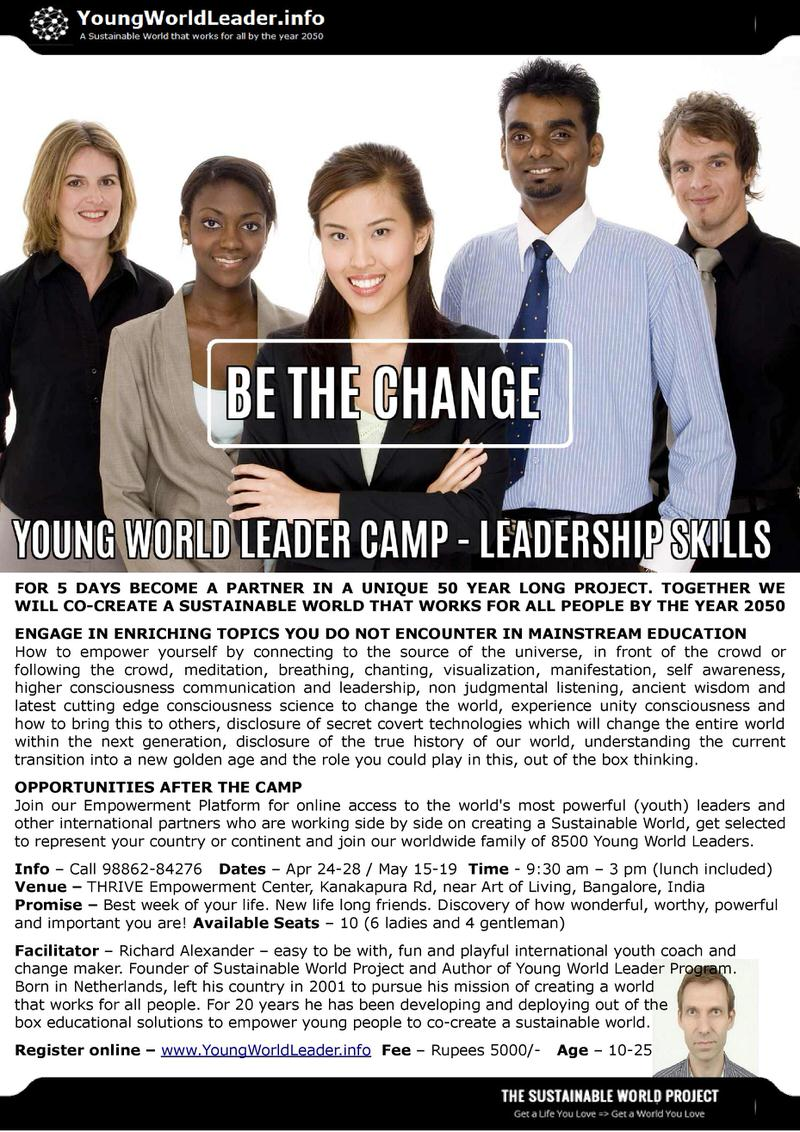 Young World Leader Camp Cover Image