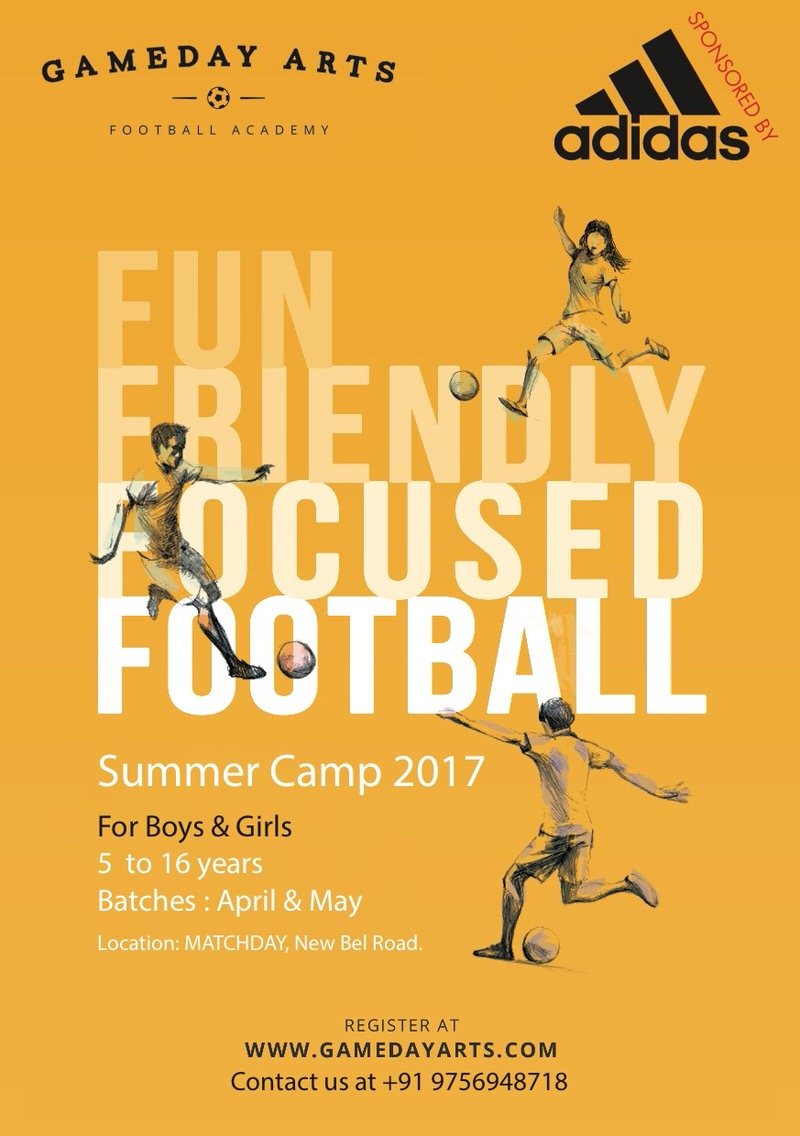 Gameday Football Academy Camp 2017 Cover Image