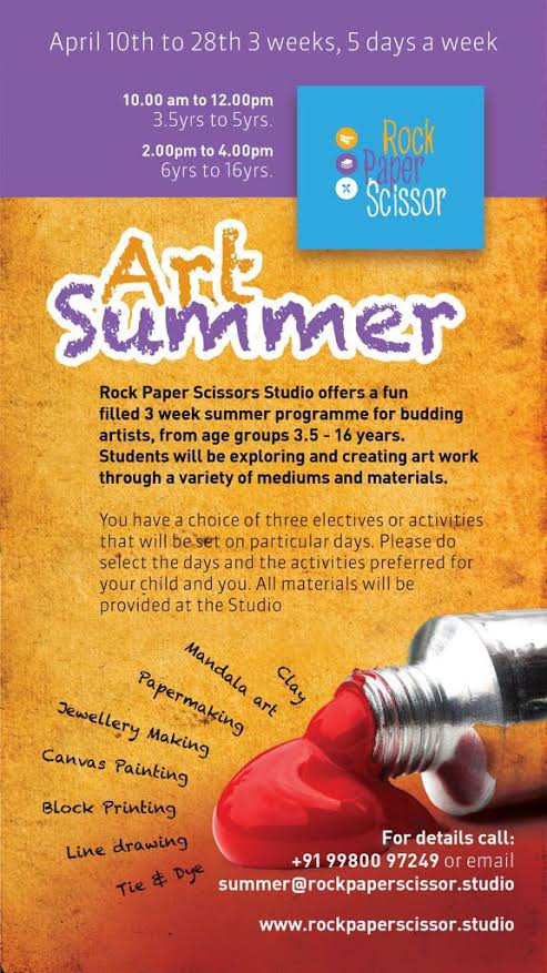 Art Summer at Rock, Paper, Scissor Cover Image