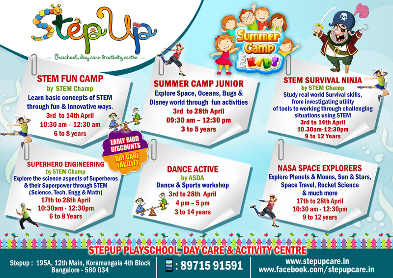 Summer Camp at StepUp Cover Image