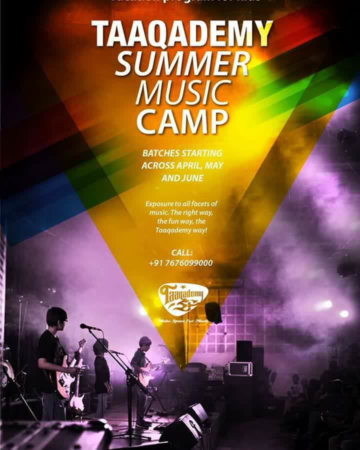 Taaqademy Summer Music Camp Cover Image