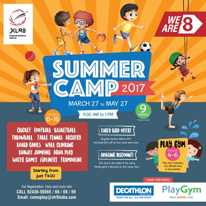 XLR8 Summer Camp Cover Image