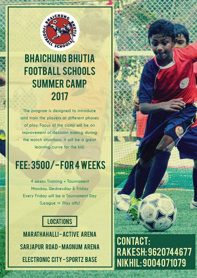 Bhaichung Bhutia Football Camp Cover Image