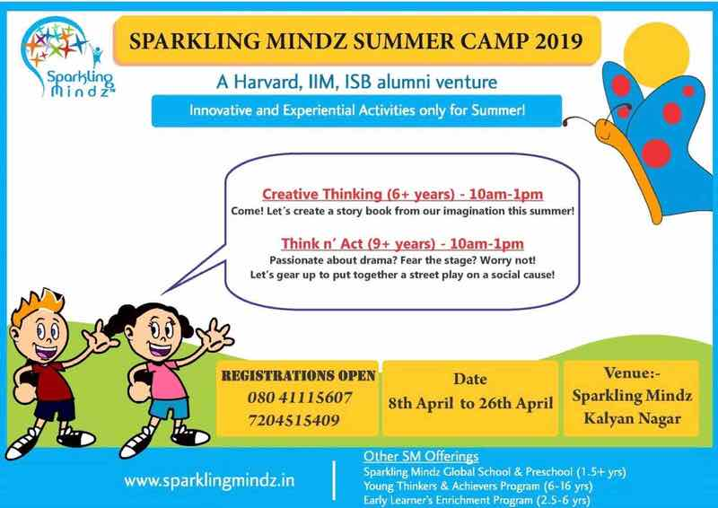 Sparkling Mindz Summer Camp 2019 Cover Image