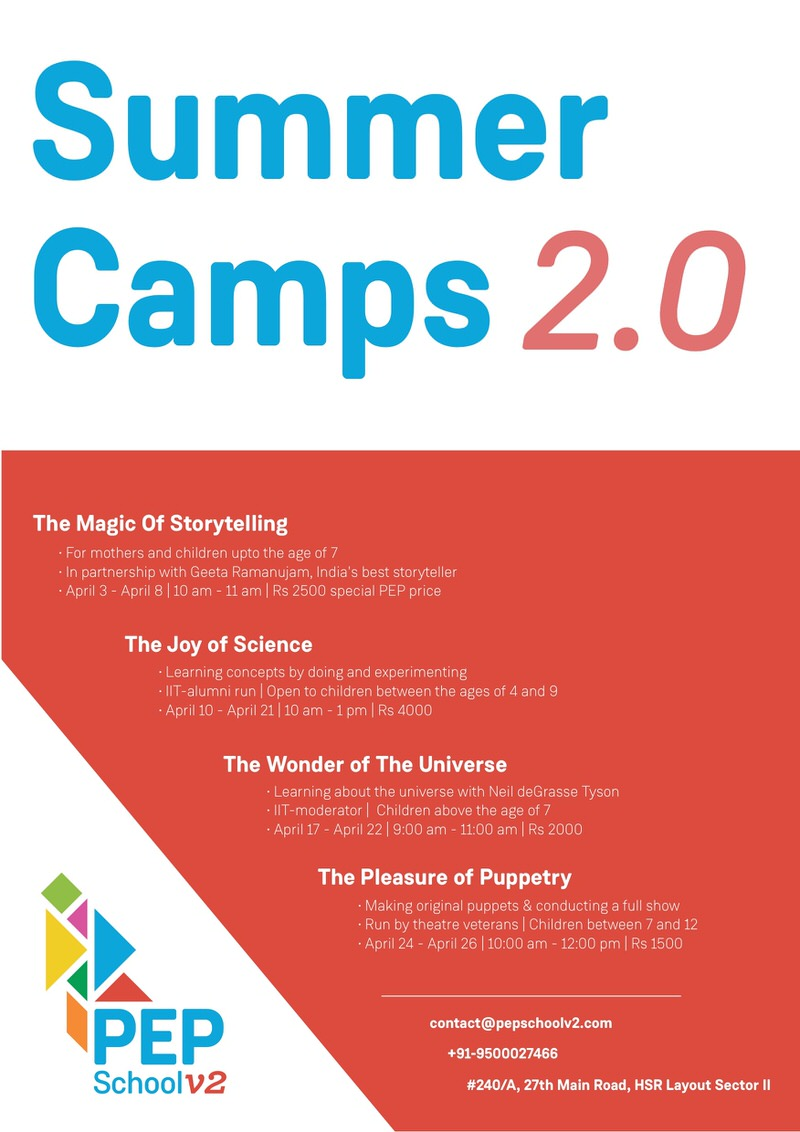 PEP School Summer Camp 2.0 Cover Image