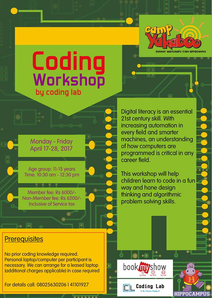 Coding Workshop Cover Image