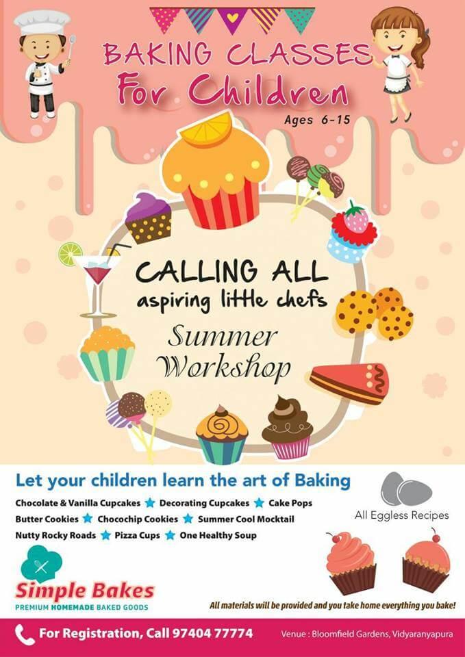 Baking Classes For Children Cover Image