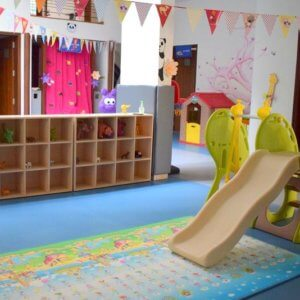 Play area at Cubby Tales Hebbal