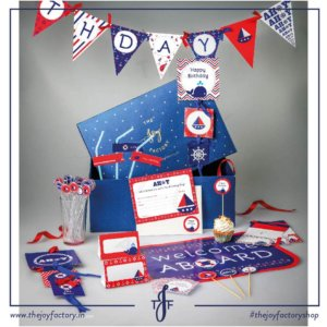 Party In a Box Nautical Theme