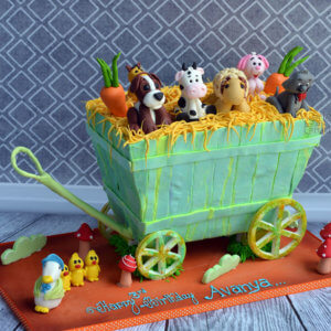 Farm Themed Cake