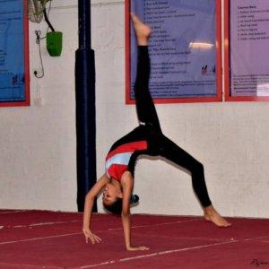 Performing Cartwheel