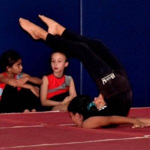 Gymnasts at Nirvana