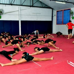 Group Class for Gymnasts