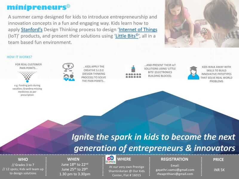 Minipreneurs Summer Camp Cover Image