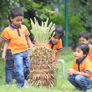Students of AIM Montessori Students