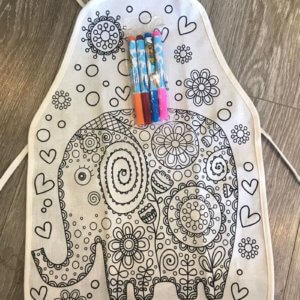 Dottedi Elephant Apron Set