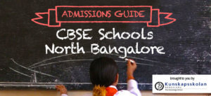 cbse schools in north Bangalore