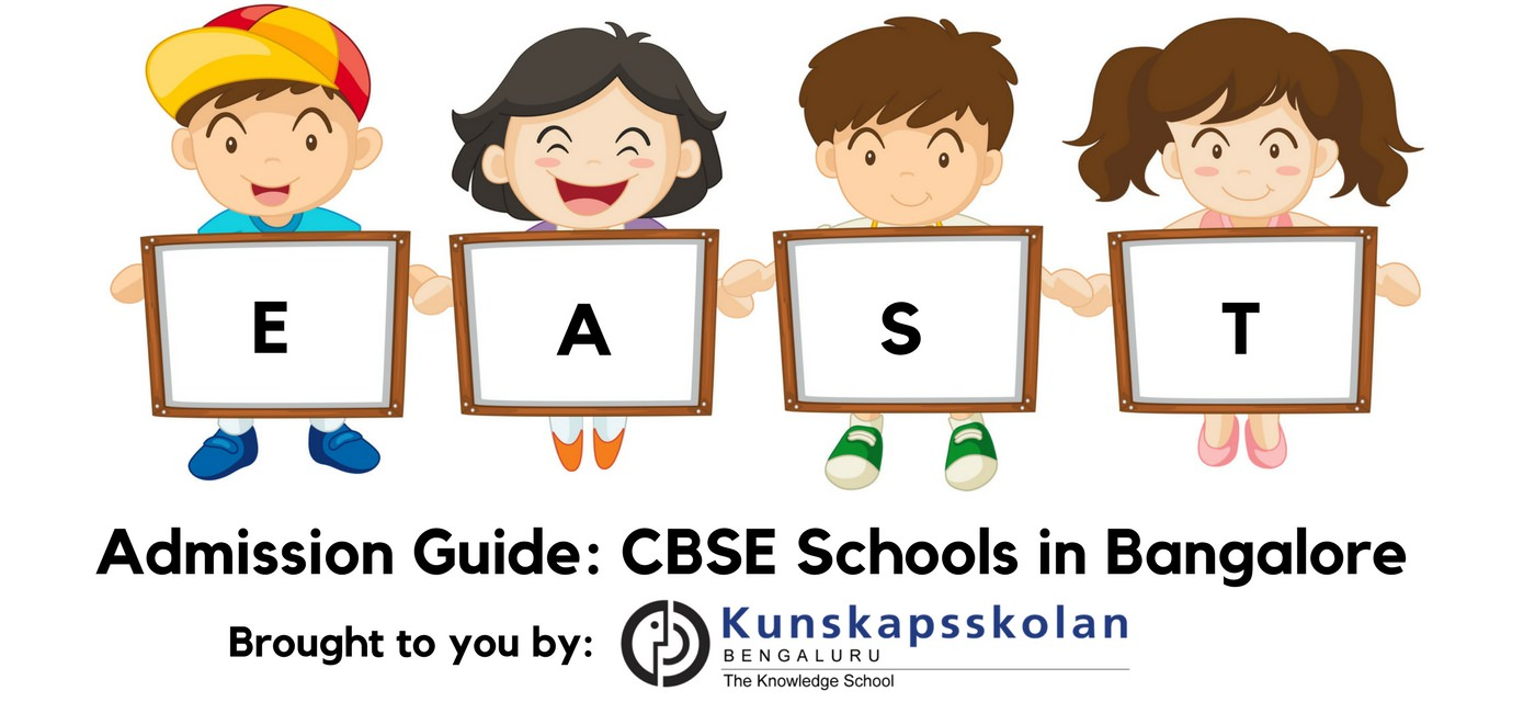 CBSE schools in East Bangalore: Admission Guide 2018-19 Cover Image